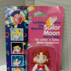 Muñecas Modernas: SAILOR MOON. LAS BELLAS GUERRERAS. BANDAI. NUEVA EN BLISTER. REF 38487. 1992. WARRIOR GIRLS. MINI.. Lote 207663963