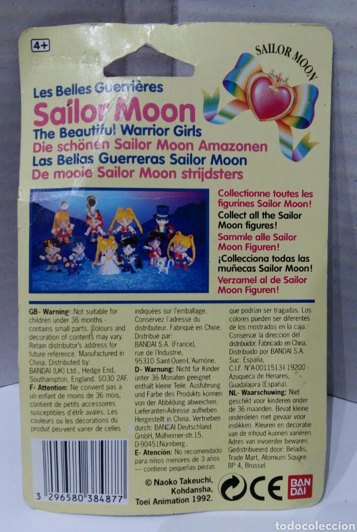 Muñecas Modernas: SAILOR MOON. LAS BELLAS GUERRERAS. BANDAI. NUEVA EN BLISTER. REF 38487. 1992. WARRIOR GIRLS. MINI. - Foto 2 - 207663963