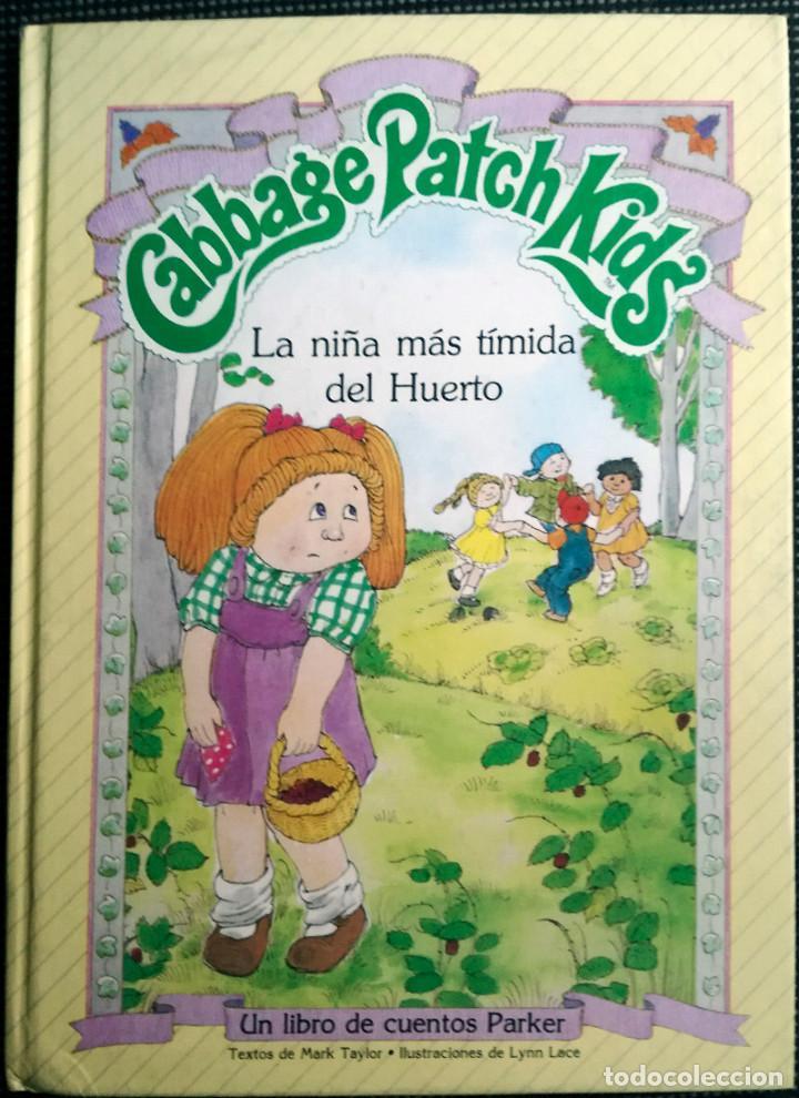 2 LIBROS CABBAGE PATCH KIDS MUÑECA REPOLLO PARKER MARILETA ROBINSON-LESLIE MORRILL 1984 NUEVO (Juguetes - Muñeca Extranjera Moderna - Otras Muñecas)