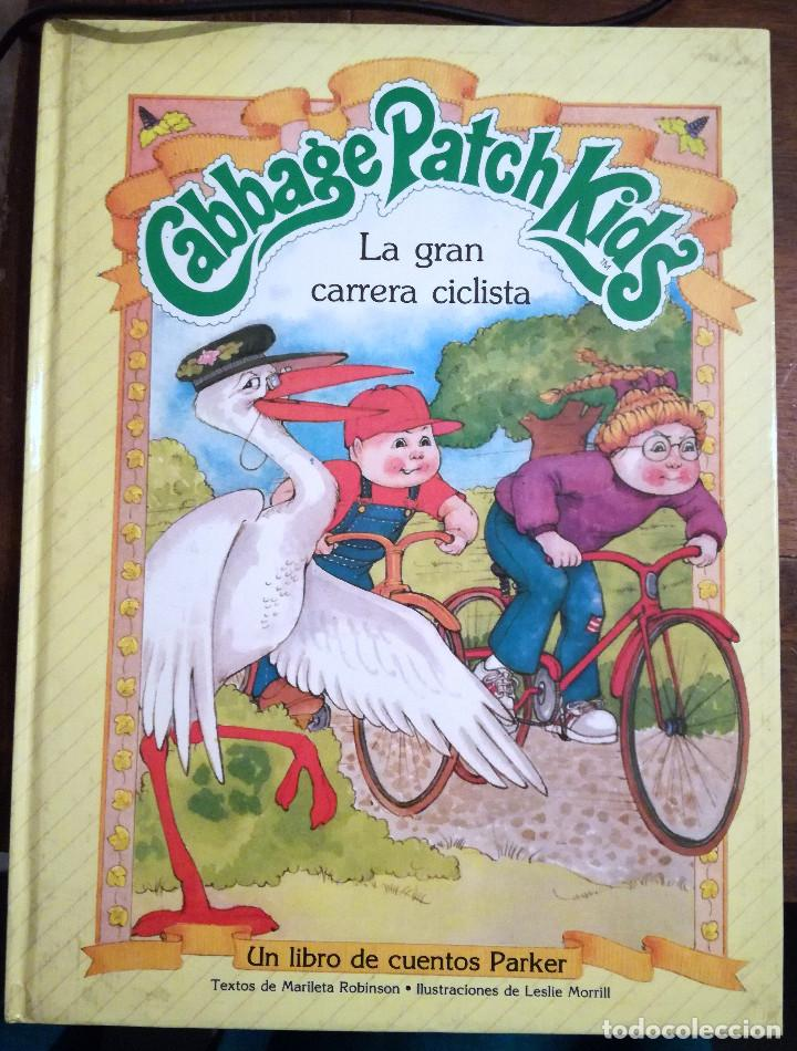 Muñecas Modernas: 2 libros Cabbage Patch Kids muñeca repollo Parker Marileta Robinson-Leslie Morrill 1984 nuevo - Foto 2 - 119146295