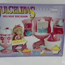 Muñecas Modernas: DULCELINAS HELADO TOCADOR KENNER 1991 MB ESPAÑA-DE ALMACEN. Lote 119152515