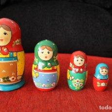 Muñecas Modernas: MATRIUSKA MATROSKA 5 PIEZA MADE IN RUSIA PINTADA A MANO. Lote 119164891