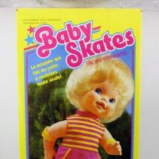 Muñecas Modernas: ANTIGUA MUÑECA BABY SKATES - MATTEL - NUEVA, NUNCA JUGADA, EN SU CAJA - AÑOS 80 - NEW OLD STOCK. Lote 159314206