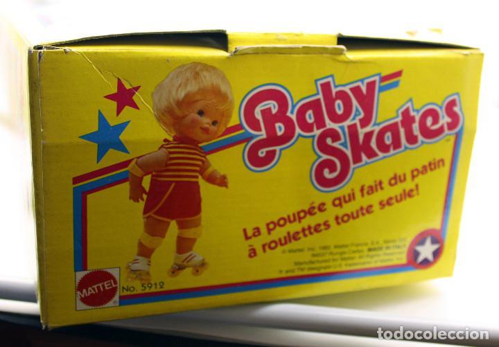 Muñecas Modernas: ANTIGUA MUÑECA BABY SKATES - MATTEL - NUEVA, NUNCA JUGADA, EN SU CAJA - AÑOS 80 - NEW OLD STOCK - Foto 3 - 159314206