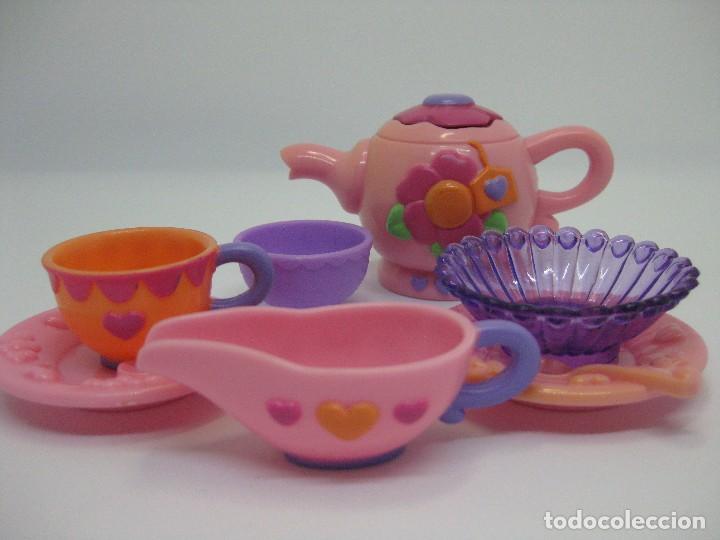 Muñecas Modernas: Complementos Pony G3- My Little Pony juego de té - Foto 2 - 119357567