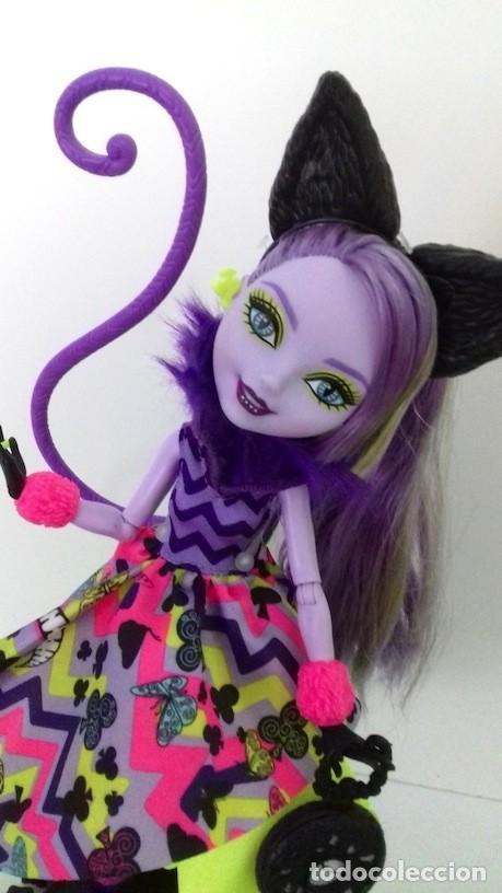 Muñecas Modernas: Muñeca Ever After High Gatita Kitty Cheshire 2015 Del País de las Maravillas Way too Wonderland - Foto 3 - 120278283