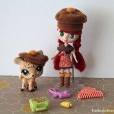 Muñecas Modernas - Mini Blythe LPS Littlest Pet Shop con mascota cervatillo Bambi incluye complementos - 120523811