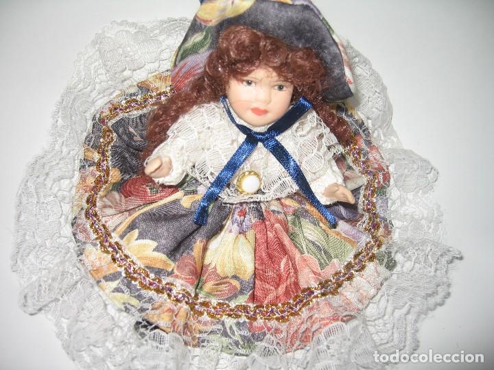 Muñecas Modernas: MUÑECA DE COLECCIÓN DE PORCELANA - Foto 2 - 120813915