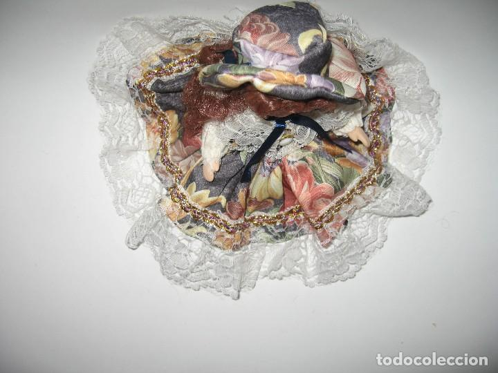 Muñecas Modernas: MUÑECA DE COLECCIÓN DE PORCELANA - Foto 5 - 120813915