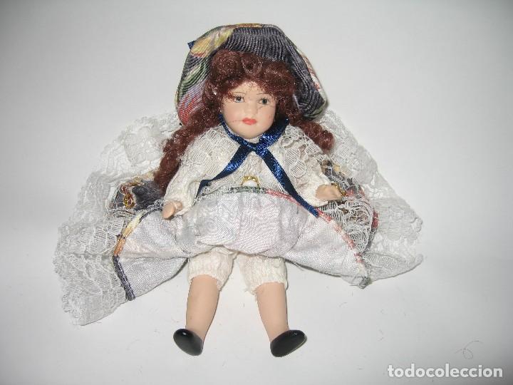 Muñecas Modernas: MUÑECA DE COLECCIÓN DE PORCELANA - Foto 6 - 120813915