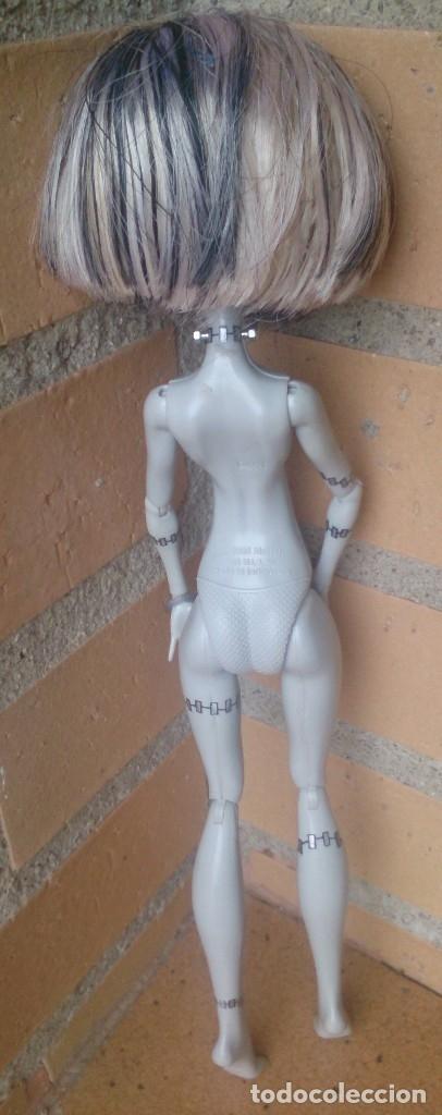 Muñecas Modernas: Muñeca Monster High Frankie Stein edición blanco y negro Black white nude - Foto 5 - 158953254