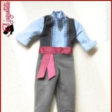 Muñecas Modernas: VESTIDO MUÑECA - PRINCESA FROZEN DISNEY STORE - TRAJE KRISTOFF. Lote 121159111