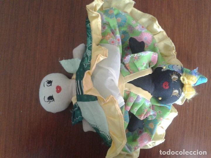 BONITA Y CURIOSA MUÑECA DOBLE REVERSIBLE (Juguetes - Muñeca Extranjera Moderna - Otras Muñecas)