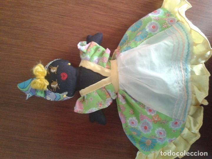 Muñecas Modernas: BONITA Y CURIOSA MUÑECA DOBLE REVERSIBLE - Foto 2 - 121321407