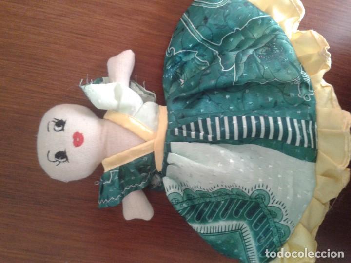 Muñecas Modernas: BONITA Y CURIOSA MUÑECA DOBLE REVERSIBLE - Foto 3 - 121321407