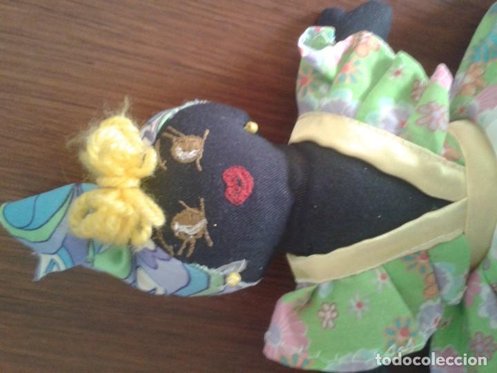 Muñecas Modernas: BONITA Y CURIOSA MUÑECA DOBLE REVERSIBLE - Foto 4 - 121321407