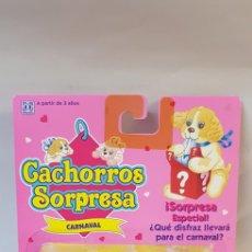 Muñecas Modernas: CACHORROS SORPRESA HASBRO 1993 CARNAVAL. Lote 121740051