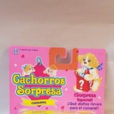 Muñecas Modernas: CACHORROS SORPRESA HASBRO 1993 CARNAVAL. Lote 121740403