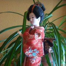 Muñecas Modernas: PRECIOSA MUÑECA JAPONESA GEISHA. Lote 122255262