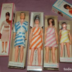 Muñecas Modernas: FAMILIA LITTLECHAP DE REMCO AÑOS 60. Lote 122671535