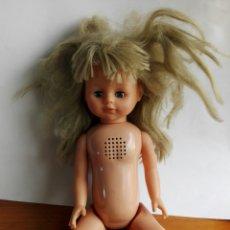 Muñecas Modernas: MUÑECA CON MECANISMO. Lote 123315674