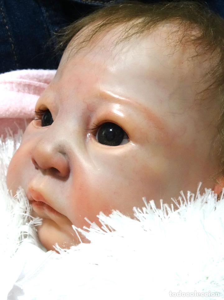 Muñecas Modernas: Preciosa muñeca bebé reborn Anna Marie con certificado - Foto 3 - 123440879