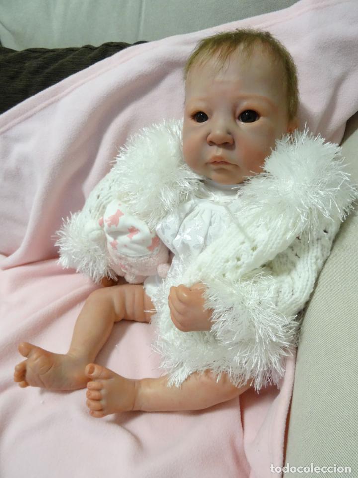 Muñecas Modernas: Preciosa muñeca bebé reborn Anna Marie con certificado - Foto 5 - 123440879