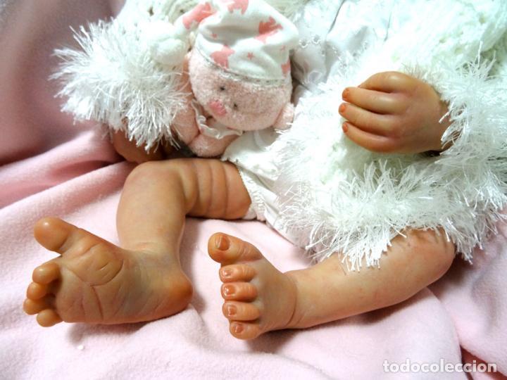 Muñecas Modernas: Preciosa muñeca bebé reborn Anna Marie con certificado - Foto 6 - 123440879