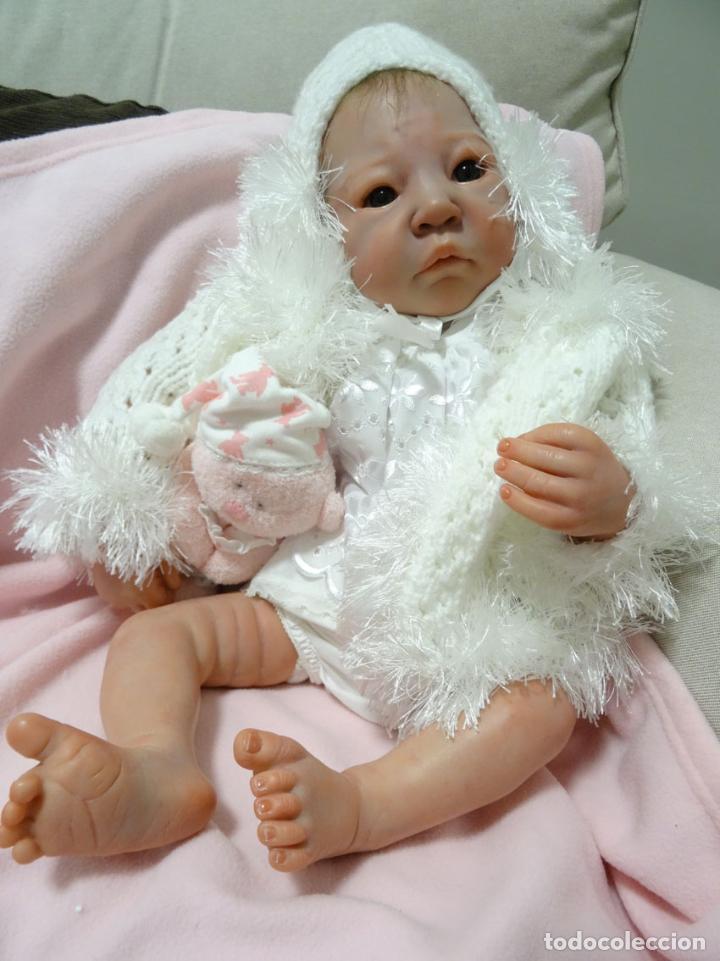 Muñecas Modernas: Preciosa muñeca bebé reborn Anna Marie con certificado - Foto 8 - 123440879