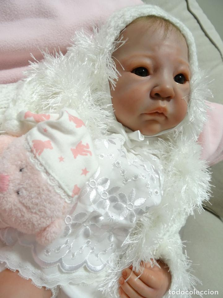 Muñecas Modernas: Preciosa muñeca bebé reborn Anna Marie con certificado - Foto 9 - 123440879