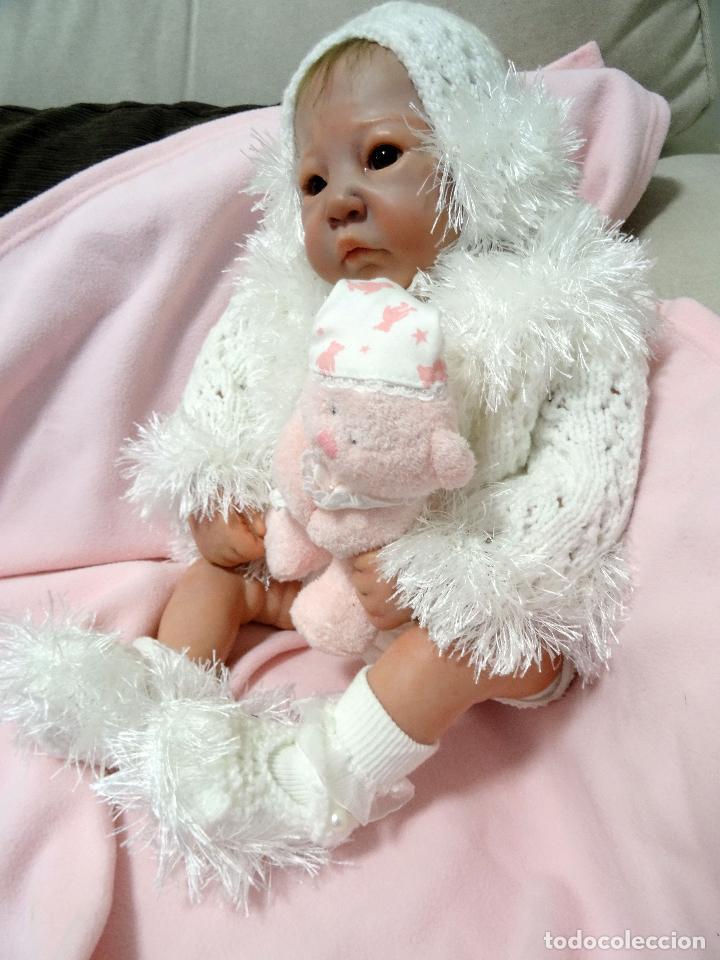 Muñecas Modernas: Preciosa muñeca bebé reborn Anna Marie con certificado - Foto 10 - 123440879