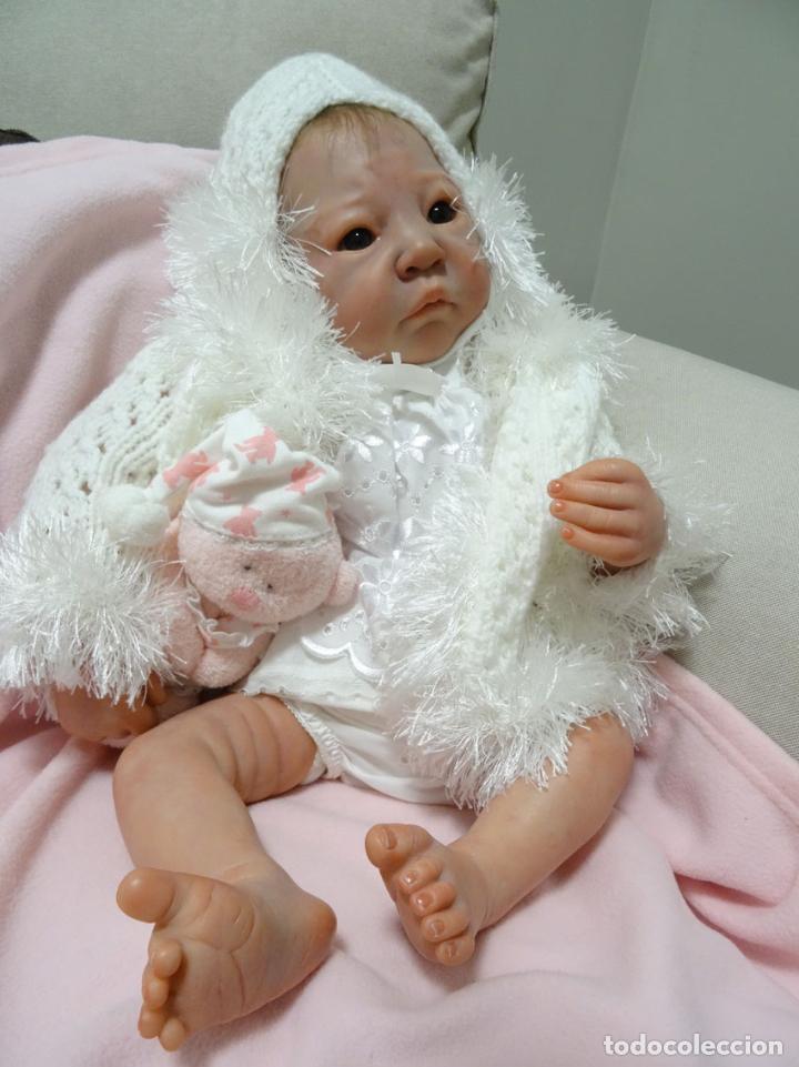Muñecas Modernas: Preciosa muñeca bebé reborn Anna Marie con certificado - Foto 11 - 123440879