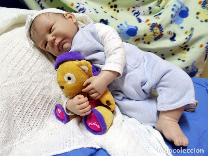 Muñecas Modernas: Muñeca reborn Bauke de Carine Devriese con certificado - Foto 2 - 123514899