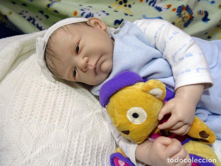 Muñecas Modernas: Muñeca reborn Bauke de Carine Devriese con certificado - Foto 4 - 123514899
