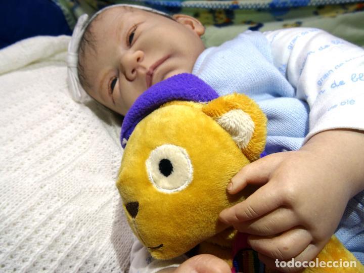 Muñecas Modernas: Muñeca reborn Bauke de Carine Devriese con certificado - Foto 6 - 123514899
