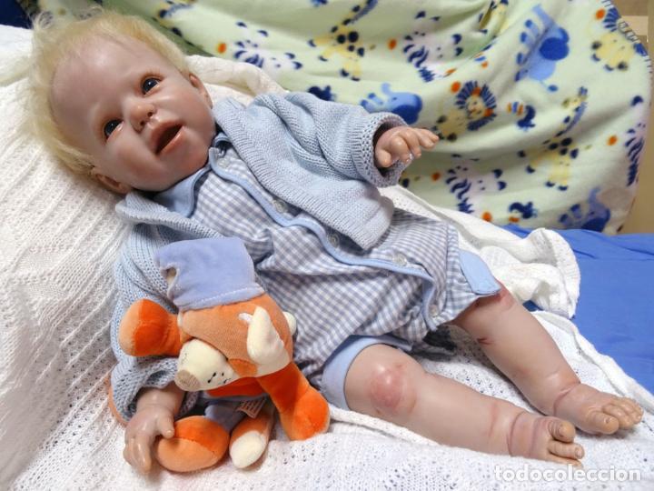 Muñecas Modernas: Muñeco reborn niño John de Mary Boccagni - Foto 2 - 123517511
