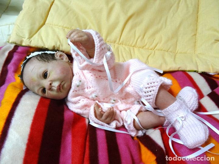 Muñecas Modernas: Muñeca bebé reborn Simone de Virginia Ullrich con certificado - Foto 2 - 123526507