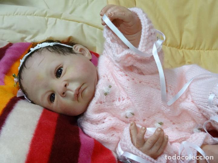 Muñecas Modernas: Muñeca bebé reborn Simone de Virginia Ullrich con certificado - Foto 3 - 123526507