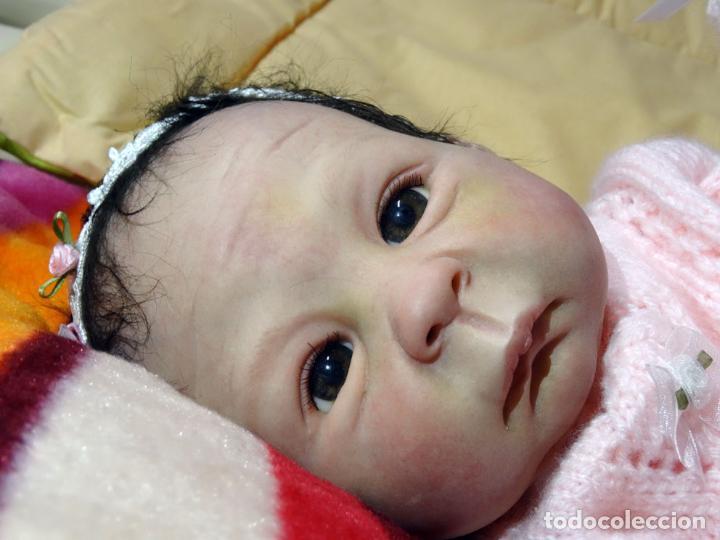 Muñecas Modernas: Muñeca bebé reborn Simone de Virginia Ullrich con certificado - Foto 7 - 123526507