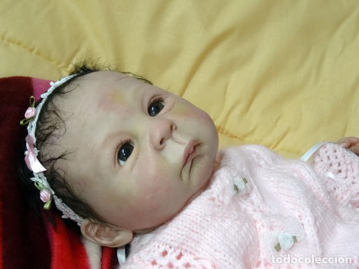 Muñecas Modernas: Muñeca bebé reborn Simone de Virginia Ullrich con certificado - Foto 9 - 123526507