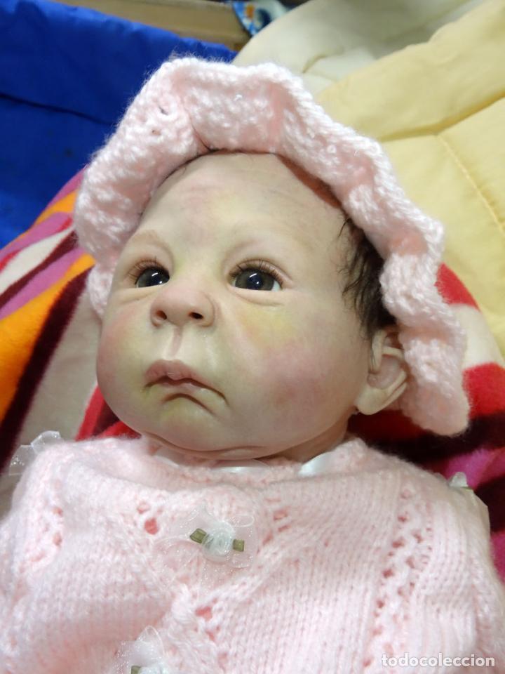 Muñecas Modernas: Muñeca bebé reborn Simone de Virginia Ullrich con certificado - Foto 10 - 123526507