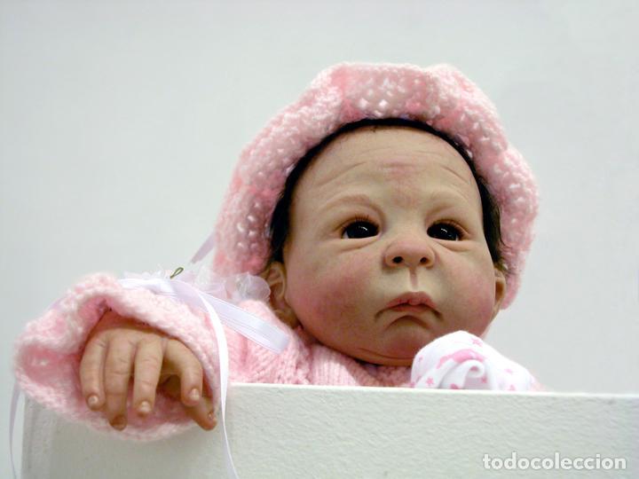 Muñecas Modernas: Muñeca bebé reborn Simone de Virginia Ullrich con certificado - Foto 11 - 123526507