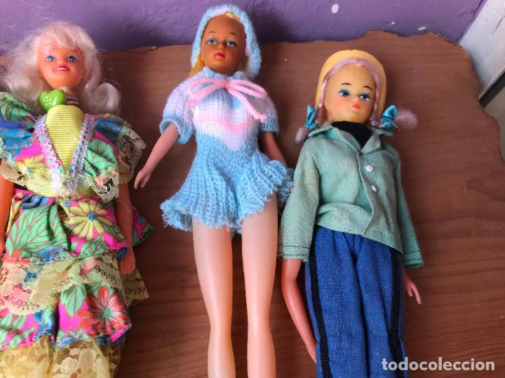 Muñecas Modernas: Lote de 58 muñecas tipo barbie años 70/80 - Foto 3 - 124678399
