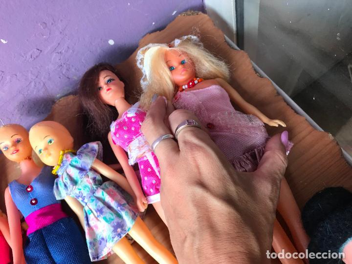 Muñecas Modernas: Lote de 58 muñecas tipo barbie años 70/80 - Foto 15 - 124678399