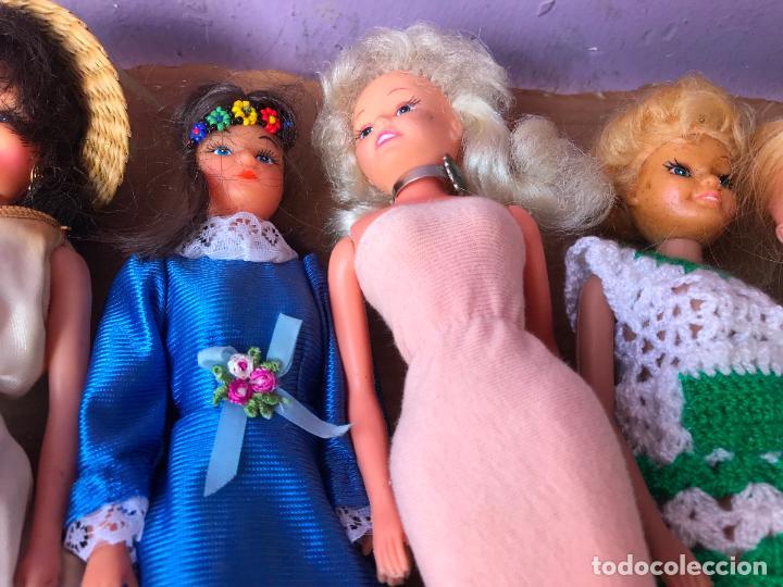 Muñecas Modernas: Lote de 58 muñecas tipo barbie años 70/80 - Foto 23 - 124678399