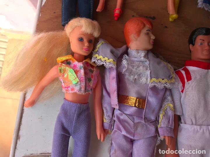 Muñecas Modernas: Lote de 58 muñecas tipo barbie años 70/80 - Foto 28 - 124678399
