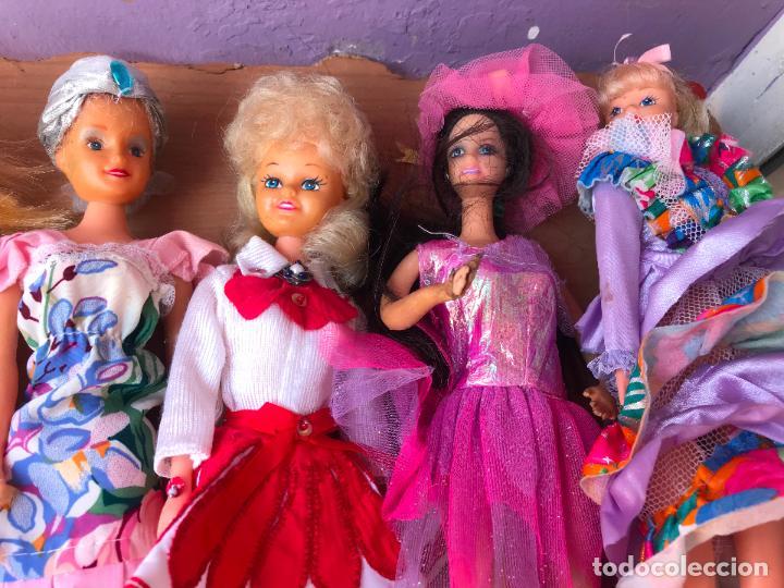 Muñecas Modernas: Lote de 58 muñecas tipo barbie años 70/80 - Foto 30 - 124678399