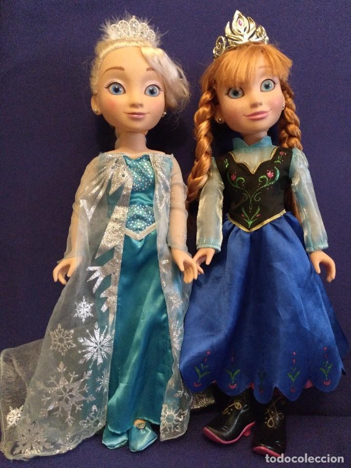 Pareja De Muñecas Frozen Elsa Y Ana De Jakks Pa Buy Other Dolls At Todocoleccion 126175023