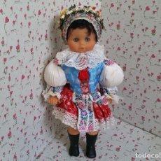Muñecas Modernas: MUÑECA VESTIDA CON TRAJE REGIONAL UCRANIANO. 57 CM . Lote 128578611