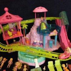 Muñecas Modernas: LOTE DE MUÑECAS POLLY POCKET CON MUCHOS COMPLEMENTOS.. Lote 129076711